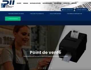 pii.fr screenshot