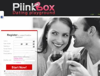 piinkbox.com screenshot
