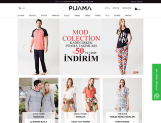 pijama.com.tr screenshot