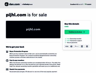 pijhl.com screenshot