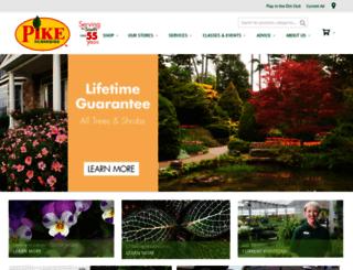 pikenurseries.com screenshot
