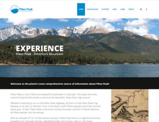 pikespeak.us.com screenshot
