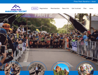 pikespeakmarathon.org screenshot