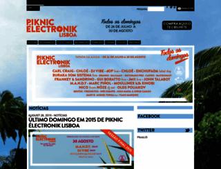 piknicelectronik.pt screenshot