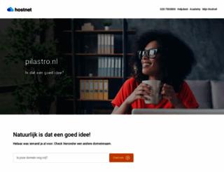 pilastro.nl screenshot