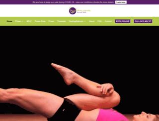 pilatesnaturally.com.au screenshot