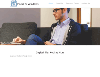 pilesforwindows.net screenshot