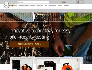 piletest.com screenshot