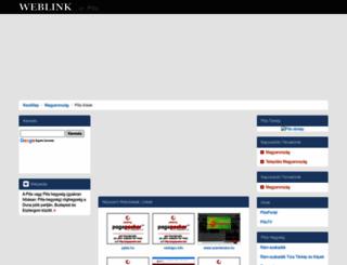 pilis.weblink.hu screenshot