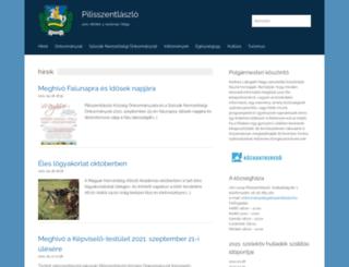pilisszentlaszlo.hu screenshot