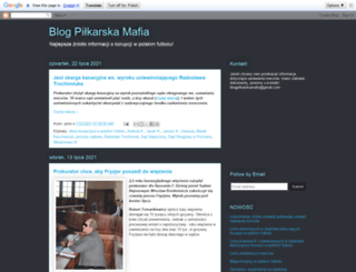 pilkarskamafia.blogspot.com screenshot