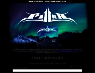 pillarmusic.com screenshot