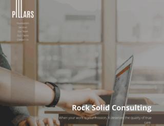 pillarsforrock.com screenshot