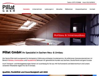 pillat-gmbh.de screenshot