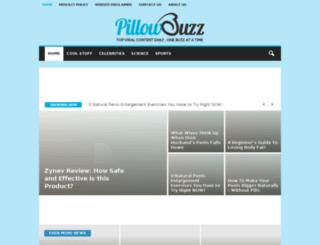 pillowbuzz.com screenshot