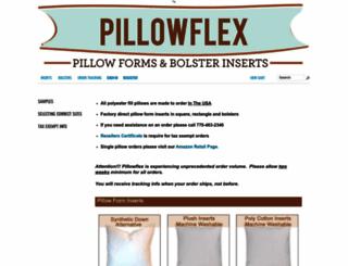 pillowflex.com screenshot
