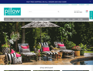 pillowperfect.com screenshot