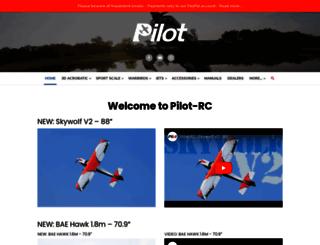 pilot-rc.com screenshot