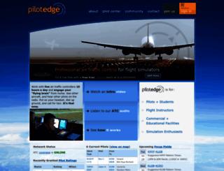 pilotedge.net screenshot