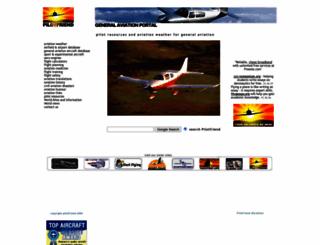 pilotfriend.com screenshot