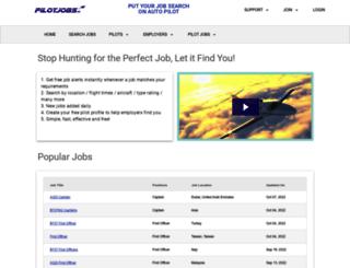 pilothiring.com screenshot