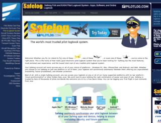pilotlog.com screenshot