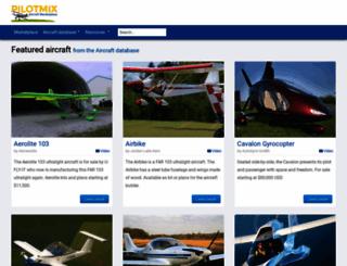 pilotmix.com screenshot