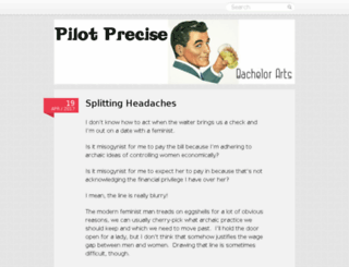 pilotprecise.wordpress.com screenshot