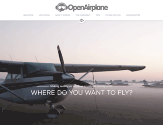 pilots.openairplane.com screenshot