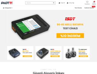 pilottr.com screenshot