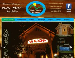 pilsko-wierchy.pl screenshot