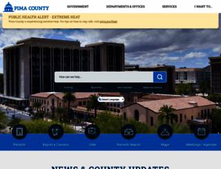 pima.gov screenshot