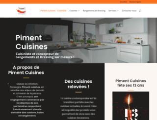 piment-cuisines.fr screenshot