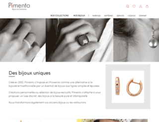 pimento.fr screenshot