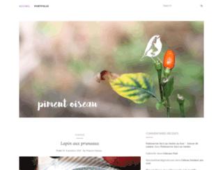 pimentoiseau.canalblog.com screenshot
