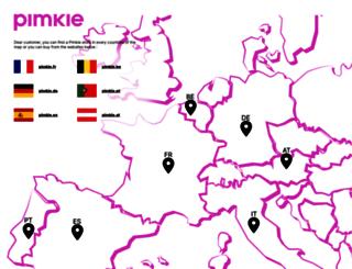 pimkie.it screenshot