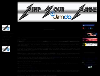 pimp-your.jimdo.com screenshot