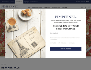 pimpernelinternational.com screenshot