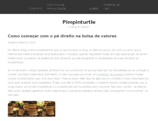 pimpinturtle.com screenshot