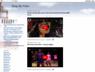 pimpmyvoice.blogspot.de screenshot