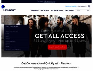 pimsleurmarketplace.com screenshot