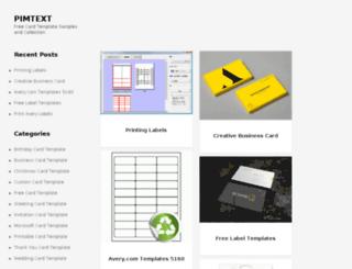 pimtext.com screenshot