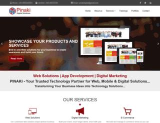 pinakidigital.com screenshot