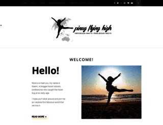 pinayflyinghigh.com screenshot