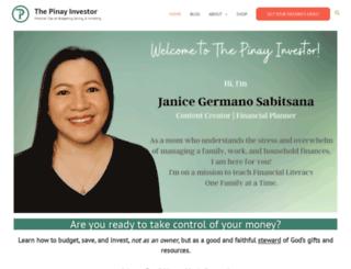 pinayinvestor.com screenshot