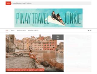 pinaytraveljunkie.com screenshot