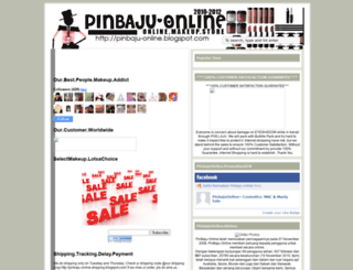 pinbaju-online.blogspot.com screenshot