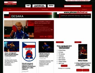 pinces.cz screenshot