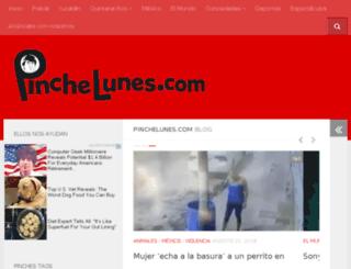 pinchelunes.com screenshot