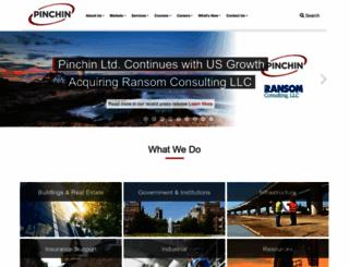 pinchin.com screenshot